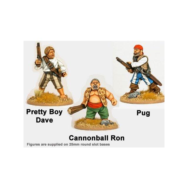 Wild Rovers - Pretty Boy Dave, Cannonball Ron, Pug (3)