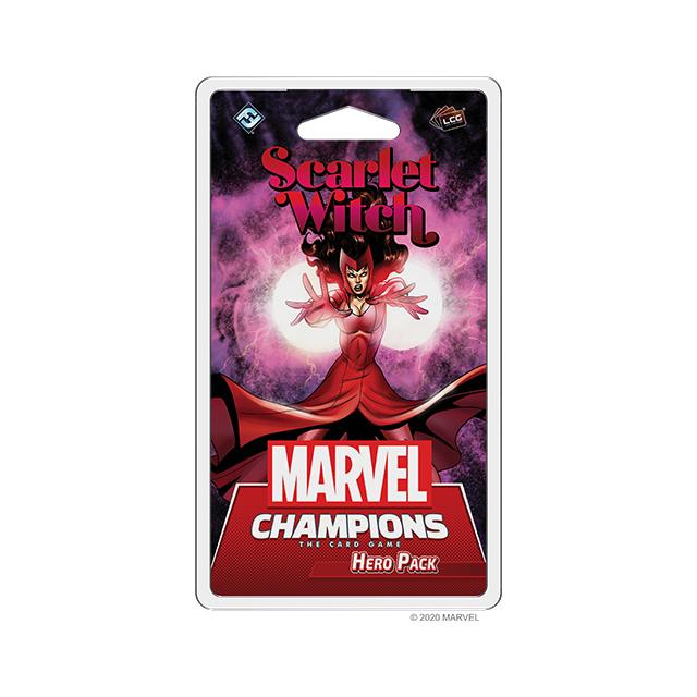 Marvel Champions: Das Kartenspiel - Scarlet Witch Erweiterung DE