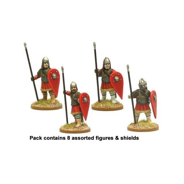 Byzantine Skutatoi standing - Lammelar Armour (8)