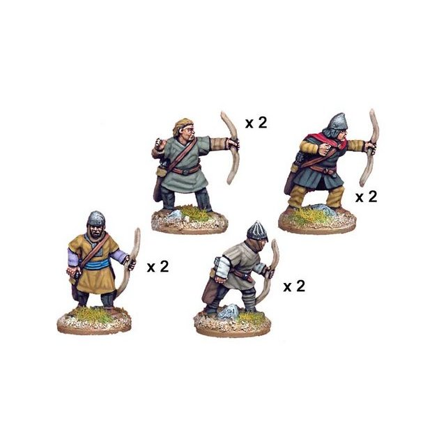 Unarmoured Spanish Archers (8)