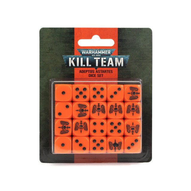 Kill Team: Adeptus Astartes Dice Set