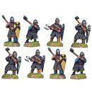 Norman Knights on Foot with Axes (8 figs)