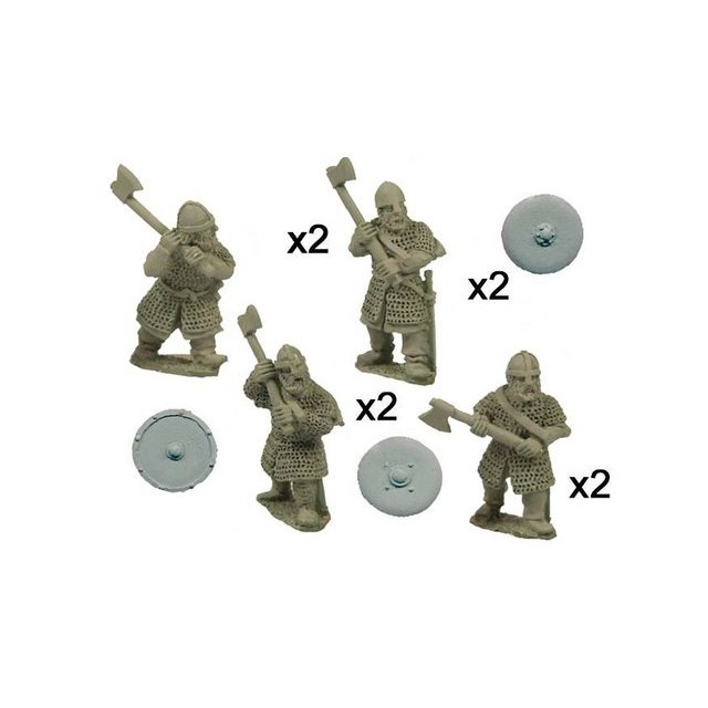 Saxon Huscarls with Axes(8)