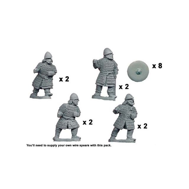 Saxon Huscrals with Spears (8)