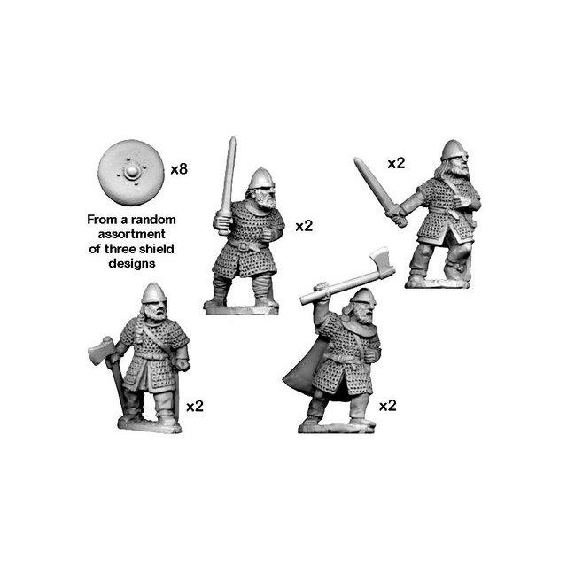 Hirdmen with Swords/ Axes (8)