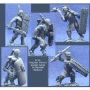 Iroquoian Warriors w/Open Hands for Separate Weapons