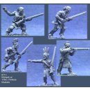 Mohawk Warriors w/17th C. Flintlock Muskets