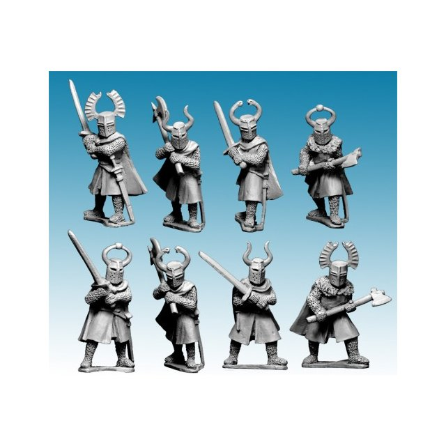 Dismounted Teutonic Knights with Big Weapons (8)