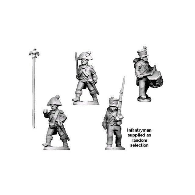 Napoleonic French - Command in Bicorne