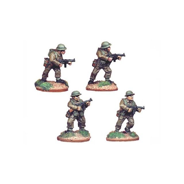 British Infantry with Thompson SMGs (4)
