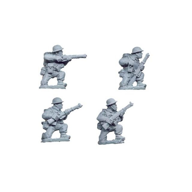 British Riflemen kneeling (4)