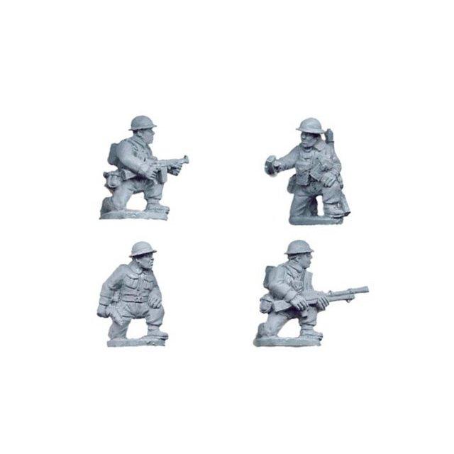 British Command and Bren Teams kneeling (4)