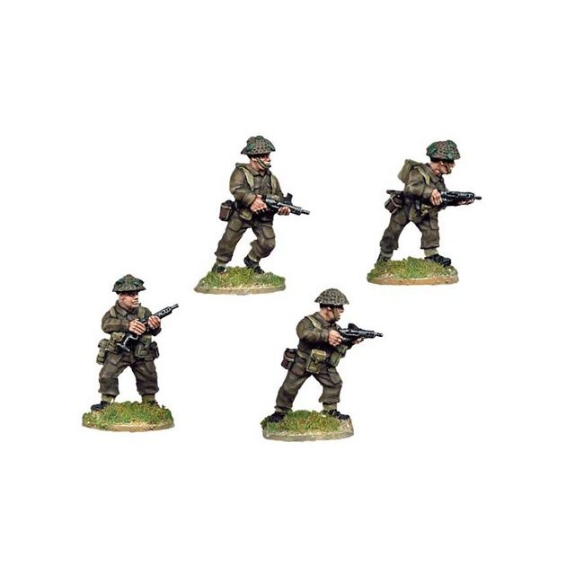 Late British Infantry with Sten SMG (4)