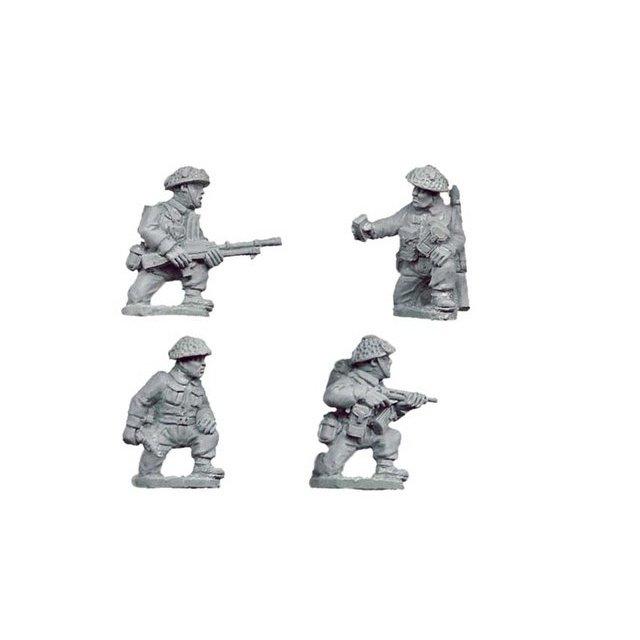 Late British Command & Bren Teams kneeling (4)