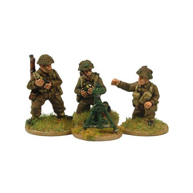 "Late British 3"" Mortar and crew (3 crew, 1 mortar)"