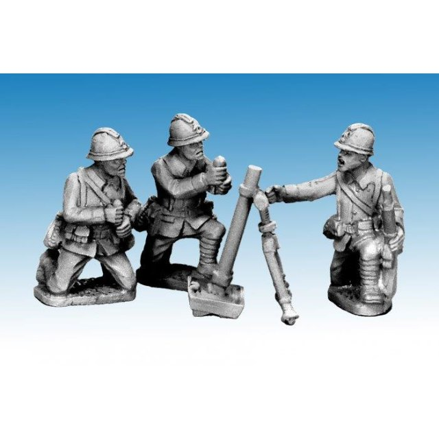 Dragon Portes 80mm Mortar & Crew