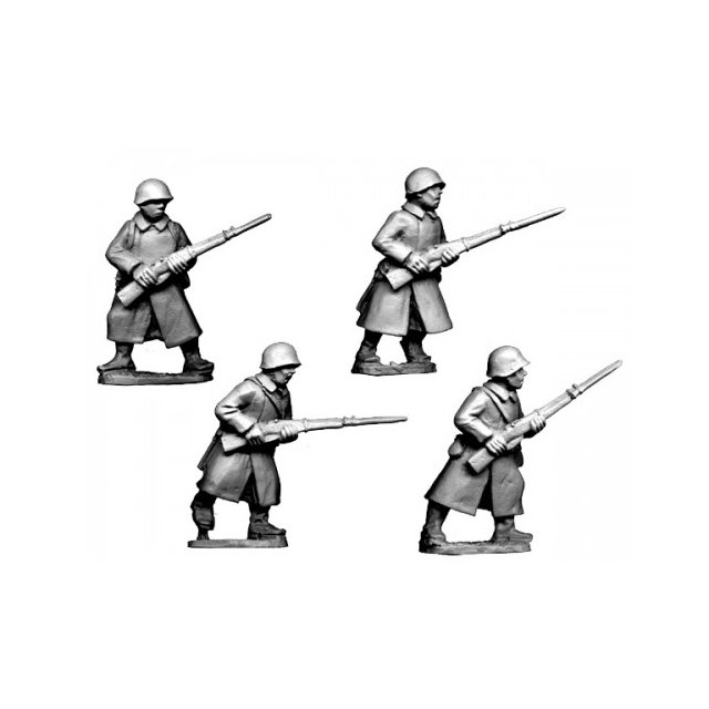 Russian Infantry in Greatcoats I (4)