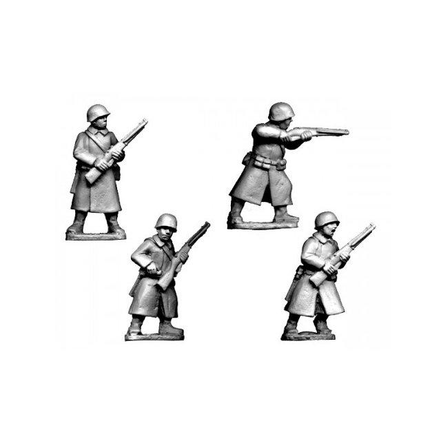 Russian Infantry in Greatcoats II (4)