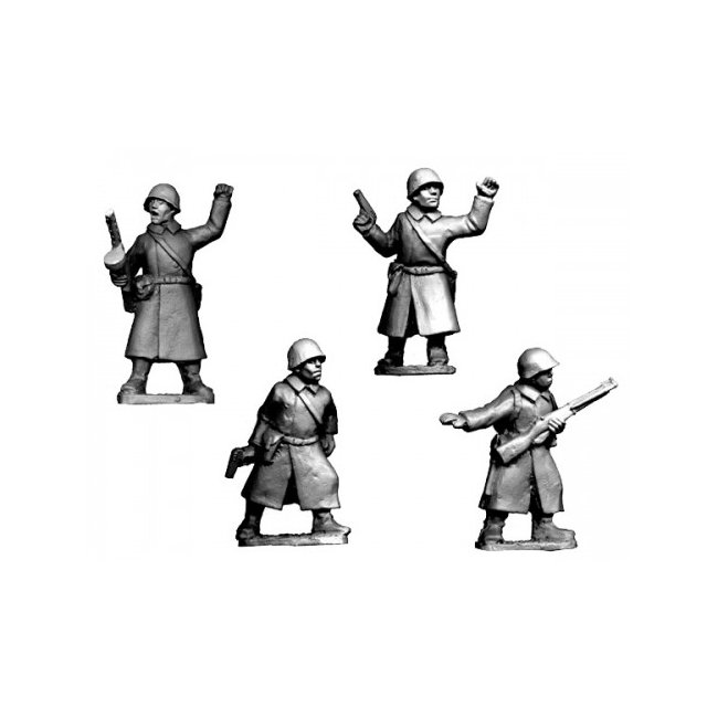 Russian Command in Greatcoats (4)