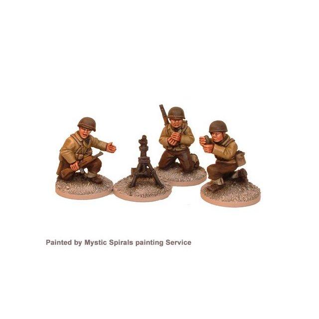 US Infantry 60mm Mortar (1 mortar, 3 crew)