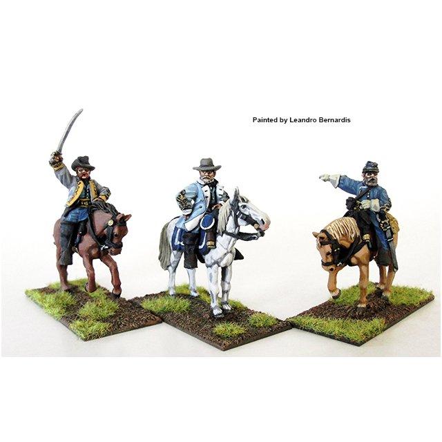 Confederate Generals mounted