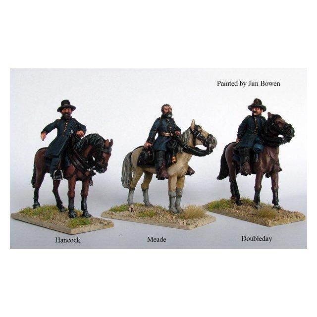 Union mounted Commanders