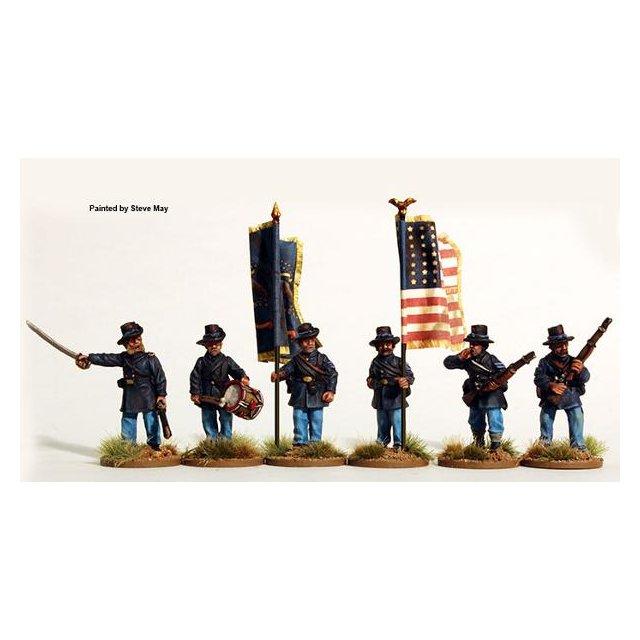 Iron Brigade command standing