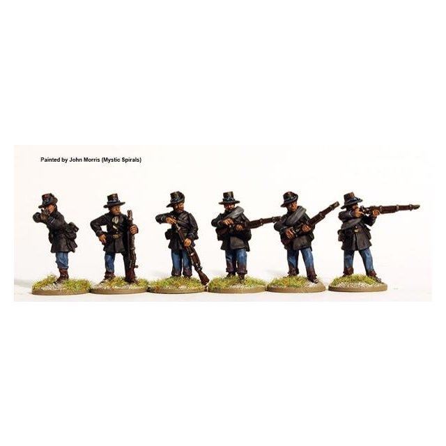 Iron Brigade, firing line