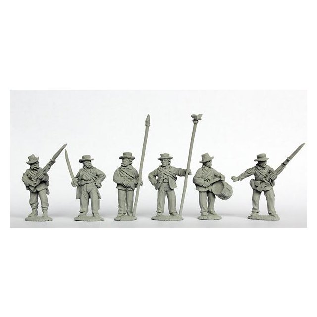 Western Union Infantry command standing