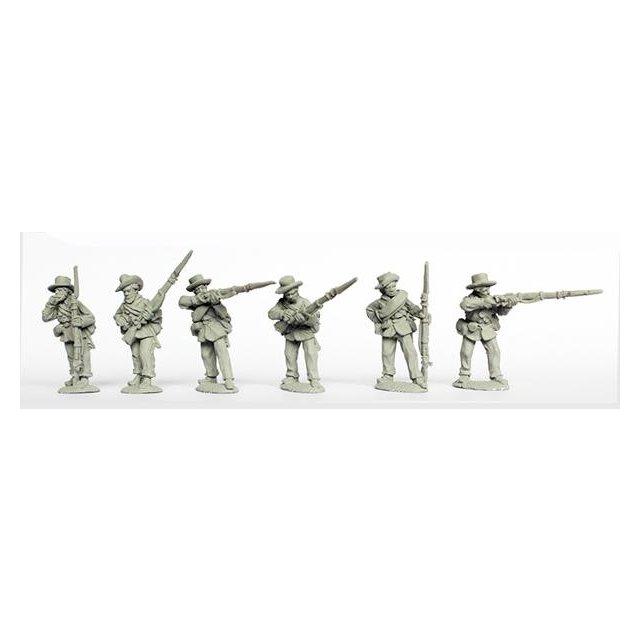 Western Union Infantry firing line
