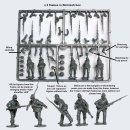 American Civil War Union Infantry in sack coats skirmishing 1861