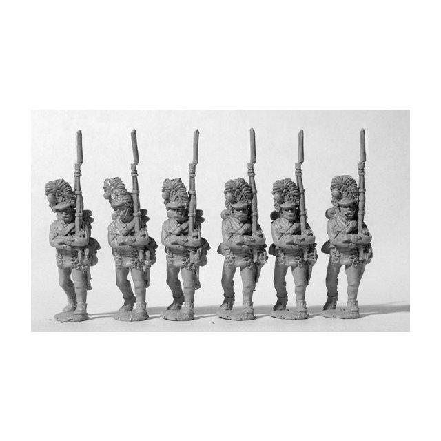 Hungarian Grenadiers march-attack (1811 fur caps)