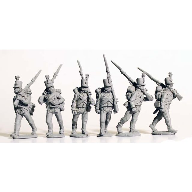 Grenz Infantry marching casually