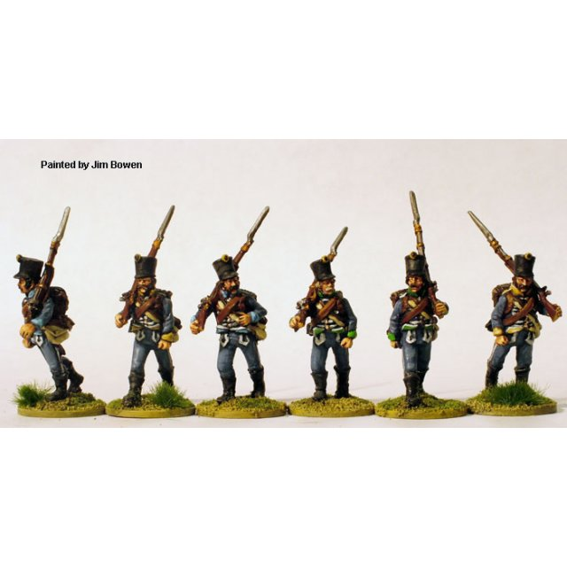 Hungarian Insurrectio Infantry marching casually