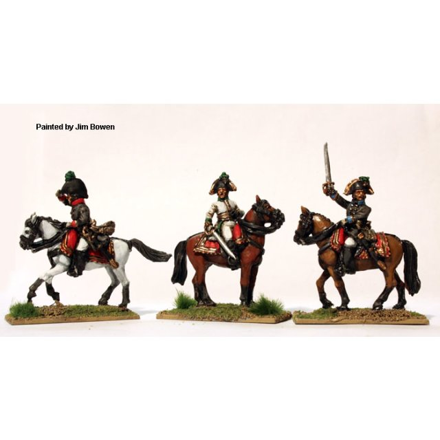 ?German? mounted Colonels