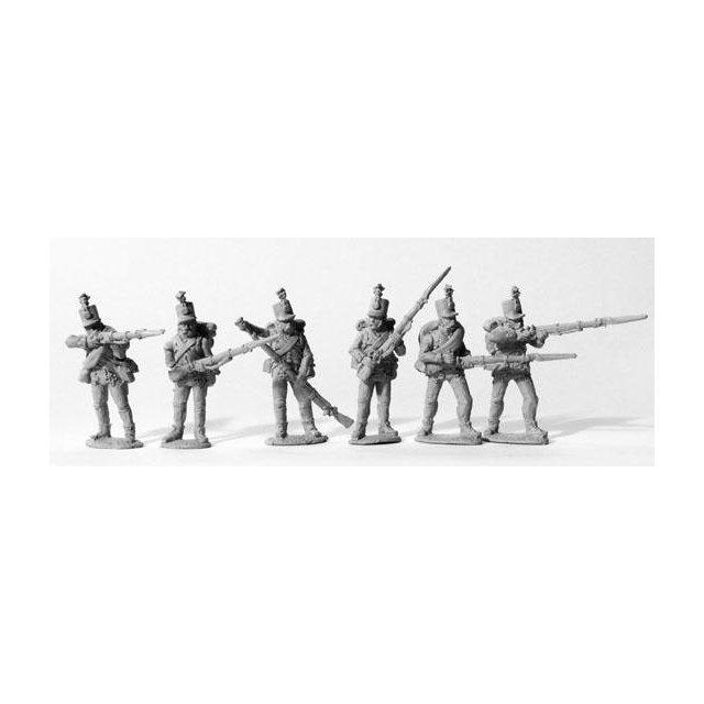 Grenz Infantry skirmishing