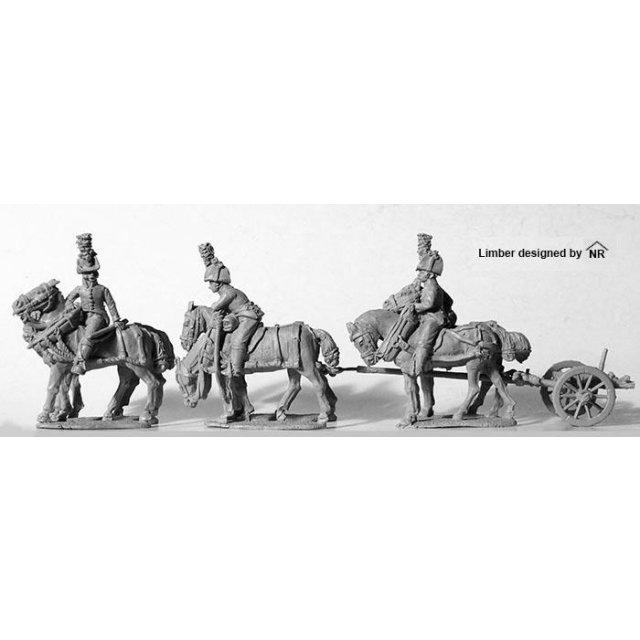 Six 'Horse' limber, no gun