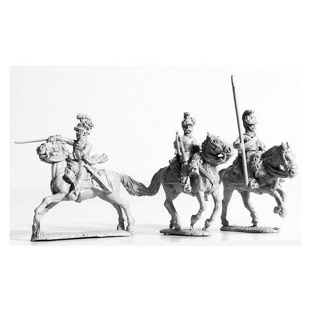 Dragoon command, galloping