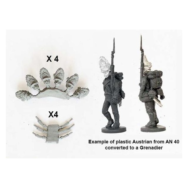 Grenadier conversion pack (for use with plastics, AN 40)