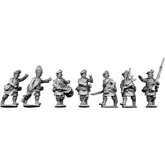 Highland Command, advancing