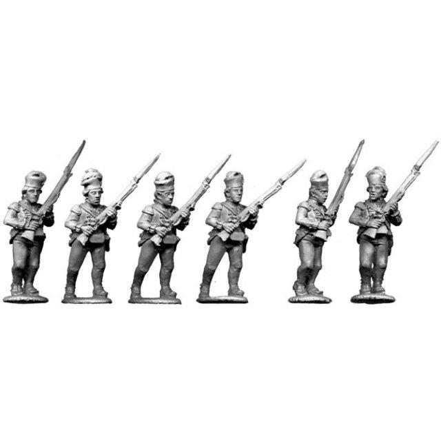 Highland Flank company, advancing at porte