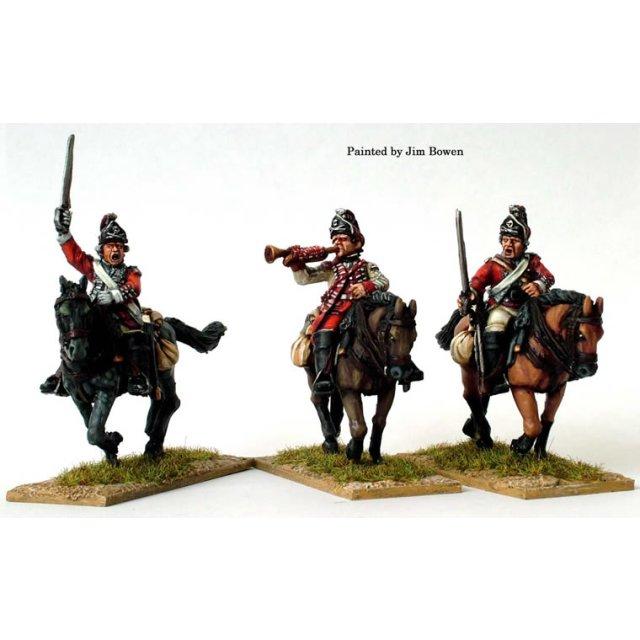 British 17th Light Dragoon command