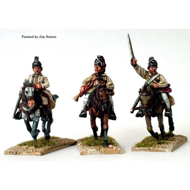 British 17th Light Dragoons, Command in Southern dress