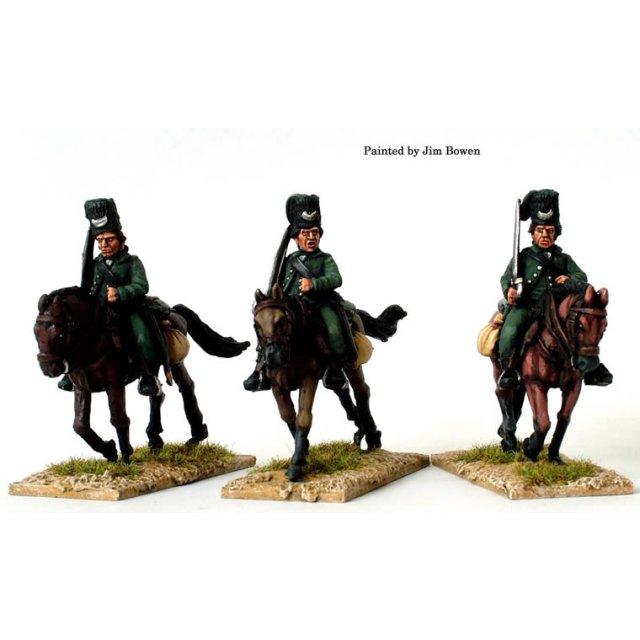 Hussars, swords shouldered