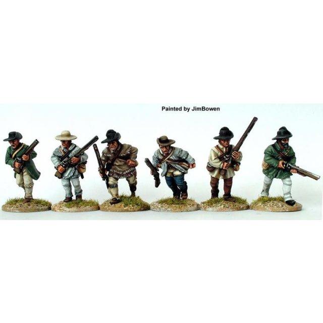 American Riflemen - Riflemen advancing