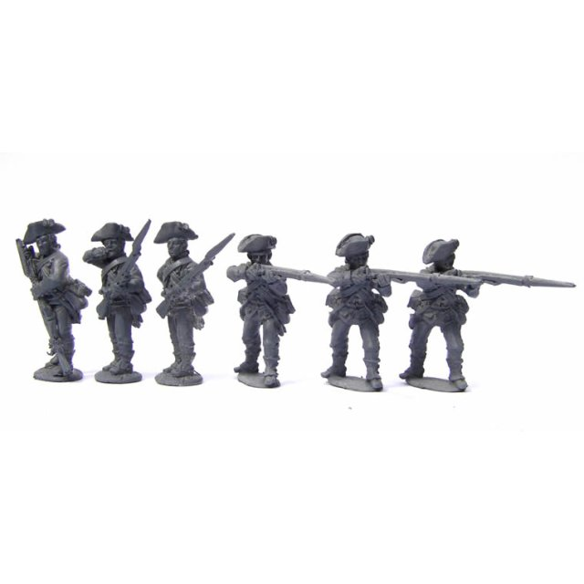 Continental Infantry - Infantry firing line