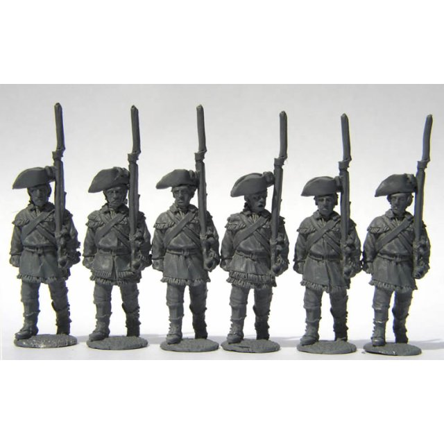 Continental Infantry - Infantry advancing, shouldered arms, hunt