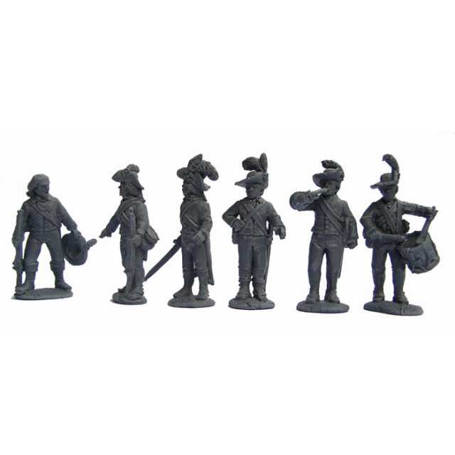 British Infantry Command in slouch hats and 'roundabouts', stan