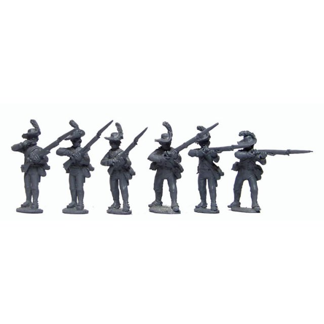 British Infantry Firing line in slouch hats and ?roundabouts&#39