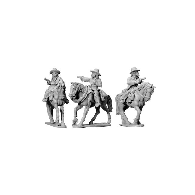7th Cavalry w/ Pistols (Mounted)